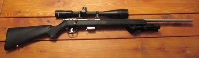 Model 93R17 FVSS 17 HMR Bolt Action w/ Scope & Bipod