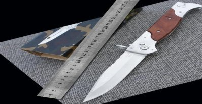 Large M9 knife automatic pocket knife