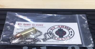 45 ACP chain pulls for ceiling fans or shop lights - perfect gift for man caves!