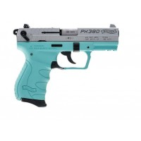 FPA Close Out Sale!!!  **NEW** Walther Arms PK380 .380ACP 8+1 Angel Blue Frame With Nickel Slide Finish **NEW** (LIFETIME WARRANTY AVAILABLE & FREE LAYAWAY AVAILABLE)  **NEW**