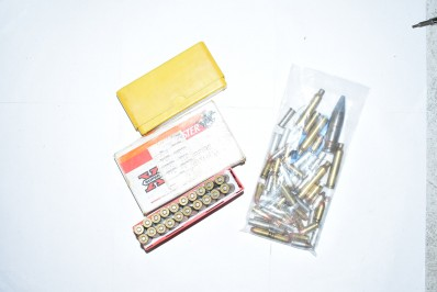 ASSORTED 270 WIN AND OTHER CALIBER TARGET ROUNDS AND BRASS