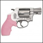 "Smith & Wesson 5 Round 38 Special+P w/1 7/8"" Barrel/Pink Rub"