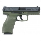 Heckler & Koch H&K VP9 Double 9mm Luger 4.09 10+1 2 Mags OD Green Interchangeable B