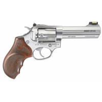 Ruger 5782 SP101 Match Champion Double 357 Magnum 4.2 5 Hardwood Stainless