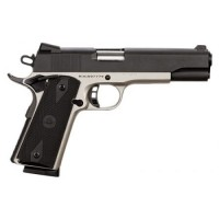 Rock Island 51447 Rock Standard FS 2Tone Single 45 ACP 5 8+1 Black Rubber Grip