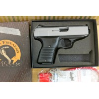 Brand Spankin New Beautiful FS Blue Cobra .380 acp semi auto pistol w/White grips - Not for CA sale- cosmetic 2nd