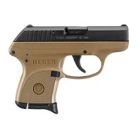 "Ruger - LCP, 380 Auto, 2.75"" Barrel, Fixed Sights, Blued/FDE"