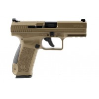 FPA Close Out Sale!!!   **NEW** Canik TP9SA Mod 2 9MM Desert Tan Carakote 18+1 2 Mags & New Style Paddle Holster IS**NEW** (LIFETIME WARRANTY AVAILABLE & FREE LAYAWAY AVAILABLE) **NEW**