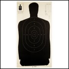 "Champion silhouette 24""X45"" B27 POLICE TARGET 100PK"