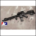 Custom AR15 Rifle Fully Decked Out AR-15 223 556 HERA ARMS, Anderson, Raptor, Magpul PRS, EOtech, Spikes Tactical