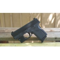 "XDS, 3.3, 9MM, TACTICAL GREY, VIRIDIAN GREEN LASER, w/ "" GEAR UP,"" PROMOTIONAL"