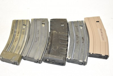 VARIOUS HIGH CAPACITY RIFLE MAGAZINES