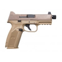 "FPA Clearance Sale!!!  **NEW** FN 509 Tactical 9MM Luger 17+1 & 24+1 2 Mags FDE 4.50"" Barrel Stainless Steel Slide FDE Interchangeable Backstrap Grip  IS**NEW** (LIFETIME WARRANTY AVAILABLE & FREE LAYAWAY AVAILABLE) **NEW**"