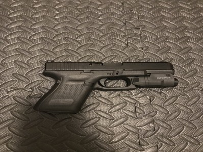 Glock 19 Gen 5 with Night Sights installed