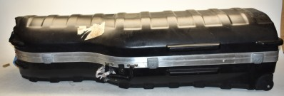 LARGE BLACK INSTRUMENT CASE