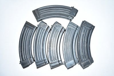 ASSORTED 7.62X39 METAL MAGAZINES (HIGH CAPACITY)