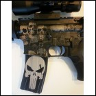 Punisher Laser Etched 30 5.56 .223 Aluminum Magazine