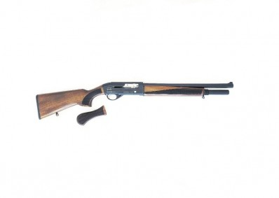 "FPA Close Out Sale!!! **NEW** Black Aces Tactical Pro Series S Max Semi Auto Shotgun 12 Gauge Natural Walnut 18.5"" Barrel With Hocho Grip Included **NEW** (FREE LAYAWAY AVAILABLE) **NEW**"