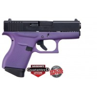 **NEW** Glock 43 Black Slide-Purple 9MM 6+1 2 Mags **NEW** (LIFETIME WARRANTY AVAILABLE & FREE LAYAWAY AVAILABLE) **NEW**