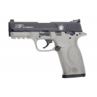 Smith & Wesson M&P22 Compact .22 LR  Rimfire Pistol with H152 Stainless Cerakote Finish
