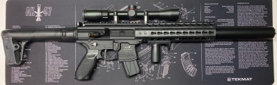 SIG SAUER MCX .177 CAL CO2 30Rd Semi-Automatic Air Rifle **USED**