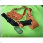 XCH Right Hand Tan Shoulder Holster