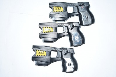 3 X26 HAND HELD TASERS WITH NO BATTERIES