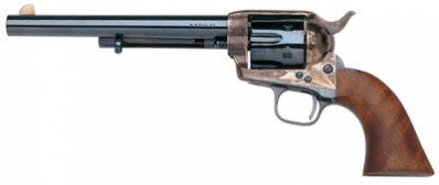 TAYLORS & CO. INC. 555119 Cattleman Charcoal-Blue/ Walnut .357 MAG