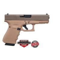**NEW** Glock 19 9MM Gen 4 15+1 3 Mags Cerakote Patriot Brown **NEW** (LIFETIME WARRANTY INCLUDED & FREE LAYAWAY AVAILABLE) **NEW**  11ACG-0082611