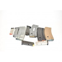 ASSORTED CALIBER HANDGUN/ LONG GUN MAGAZINES