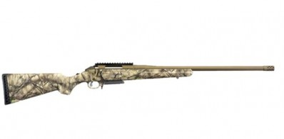 **NEW** Ruger American Rifle 308 3+1 With Cerakote Bronze / Go Wild Camo I-M Brush **NEW** (LIFETIME WARRANTY AVAILABLE & FREE LAYAWAY AVAILABLE) 112692611 **NEW**