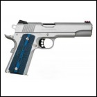 "Colt Gold Cup Trophy .45acp 5"" Stainless G10 Grips 8+1"