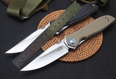 ZT Zero Tolerance 0372 - ZT 0372 9Cr18MoV Ball bearing system G10 ZT Folding Knife, Great Christmas gift for your man or woman! Stocking Stuffers!