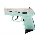 "SCCY Industries CPX2TTSB CPX-2 Double 9mm 3.1"" 10+1 Robin Egg Blue"