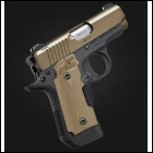 Kimber Micro 380acp Desert Tan with Laser Grips