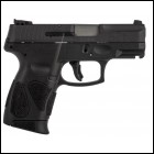 "Taurus USA G2C 9mm Compact 12-Round Handgun - 3.2"" Barrel Black. NIB"