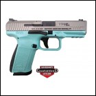 **NEW** Canik TP9SFX 9MM Robin Egg Blue 15+1 2 Mags **NEW** (LIFETIME WARRANTY AVAILABLE & FREE LAYAWAY AVAILABLE) **NEW**
