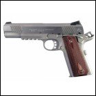 COLT GOVT 9MM Luger Rail Gun SS 5in 9rd Rosewood