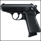 "Walther Arms PPK/S .22 22LR 3.35"" TB 10+1 Black Synthet"