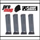 Kahr Arms Promag 9mm 10 Round Mags 4-Pack & Mag Loader