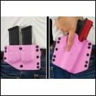 Phalanx 9mm/.40 Pink Holster & Twin Mag Carrier Package