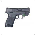 Smith & Wesson M&P40SHLD 11904 40 3.1 2.0 Crimson Trace Green