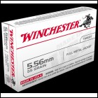 Winchester 5.56 NATO .223 FMJ Target Ammo 100-rd 556 mm Ammunition