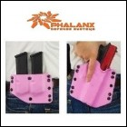 Phalanx Defense 9mm .40S&W .357SIG Holster & Mag Carrier