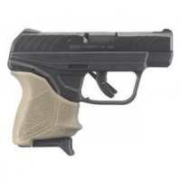 Ruger LCP II 380ACP FDE HOGUE GRIP
