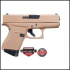 **NEW** Glock 43 9MM 6+1 2 Mags Dark Earth D. **NEW** (FREE LIFETIME WARRANTY AVAILABLE & FREE LAYAWAY AVAILABLE) **NEW**