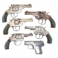 LOT OF 6 HANDGUNS - GUNSMITH SPECIALS