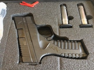 "Springfield Armory XDS .45ACP 3.3""  FRONT FIBER OPTIC     *****RELISTED, ILLEGAL TO OWN IN CALIFORNIA*****"