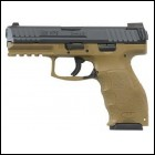 "HK VP9 9MM 4.09"" FDE 15RD"