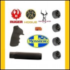 Ruger Hogue Tamer Grip & Mossberg Hogue Overmold Rubber Forend + Safariland .44 Speed Loaders (x4)